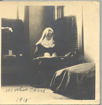 earliest picture that we have of Mother Clare