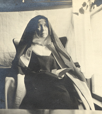 Mother Clare of the Blessed Sacrament - Silver Jubilee was celebrated in Davenport - November 24 1915