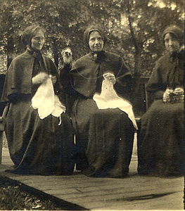 Sister Joseph, Mother Paula, Sister Veronica