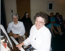Sr. Jean Marie (Cleveland Carmel) and Sr. Mary Anne