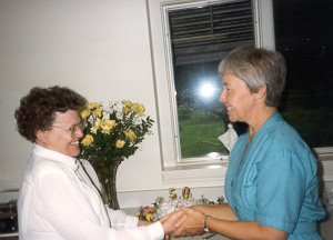Sr. Mary Anne and Sr. Anne Marie