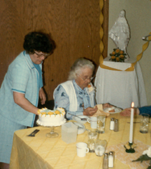 Sisters Mary Anne and Rozanne - celebrating Sr. Rozanne's Golden Jubilee May 25, 1983